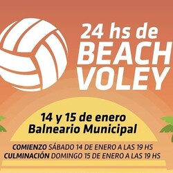"Tapalqué tendrá sus ""24 horas de Beach Voley"""