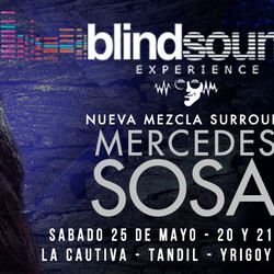 Homenaje a Mercedes Sosa. Blind Sound Experience